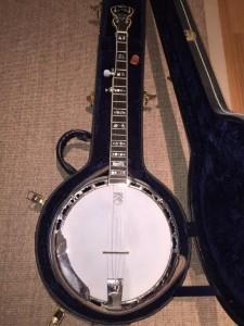 1 Banjo mit Koffer