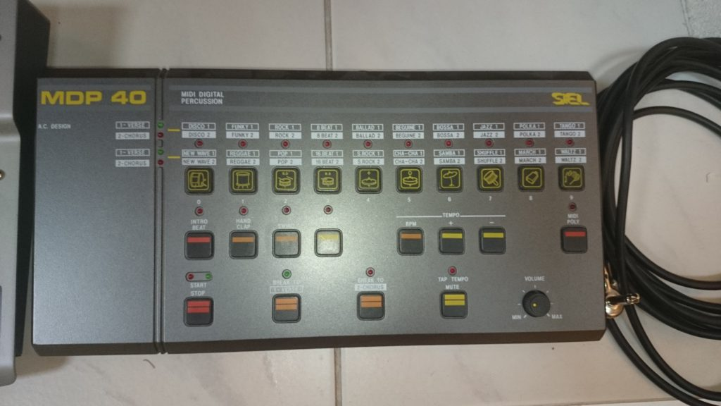 26 Drummaschine MDP 40