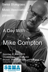 Flyer Mike Compton Vorderseite