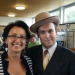 Matt Ringressi mit SBMA-Vorstandsmitglied Cindy Richner